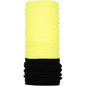 P.A.C. Fleece Loop Sjaal, geel/zwart